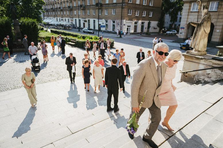 Ślub w parafii św. Andrzeja Apostoła w Warszawie
