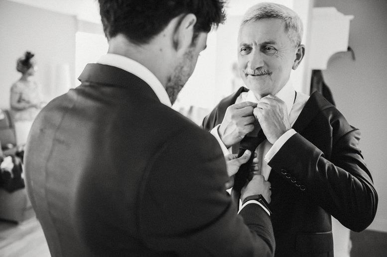 przygotowania do ceremonii ślubu i wesela