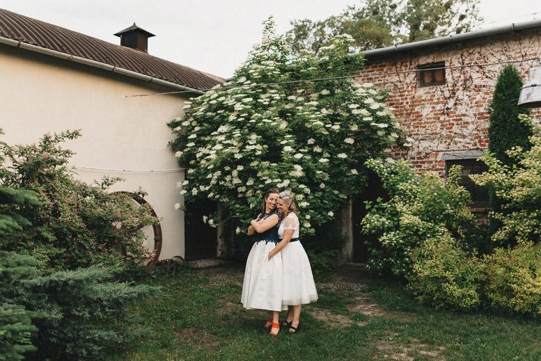 Plenerowy ślub i wesele w Osadzie Młyńskiej